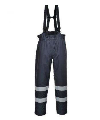Portwest Bizflame Rain FR Multi Protection Trousers S771 Navy Blue Colour