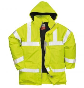 PPG Workwear Portwest Bizflame Rain FR Lined Jacket S778 Yellow Colour