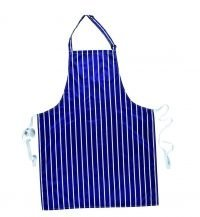 Portwest Waterproof Bib Apron S849 Navy Blue Colour with White Stripes