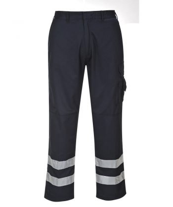 Portwest Iona Safety Combat Trousers S917 Navy Blue Colour