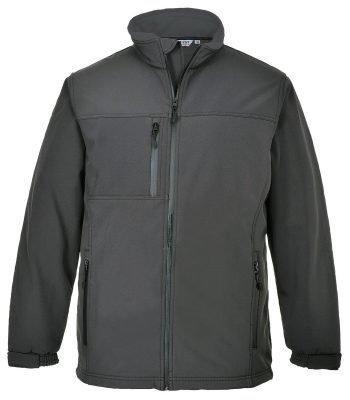 PPG Workwear Portwest Technik Softshell Jacket TK50 Grey Colour