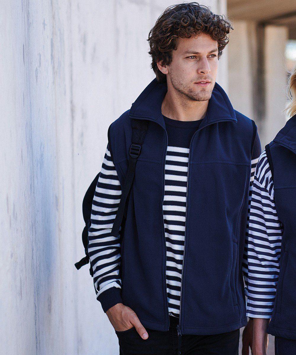 PPG Workwear Regatta Haber Fleece Bodywarmer TRA700 Navy Blue Colour