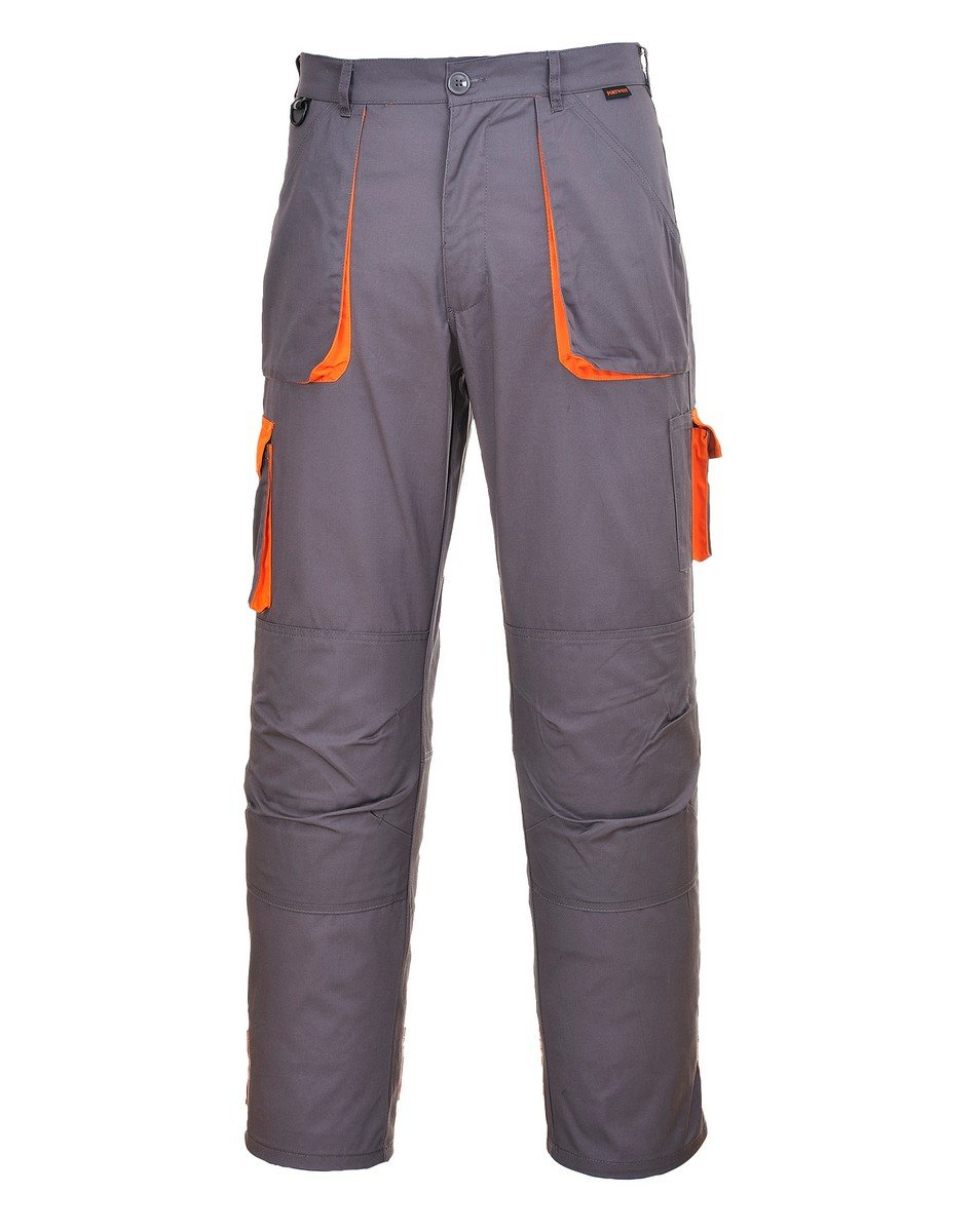 Portwest Texo Contrast Trousers TX11 Grey Colour