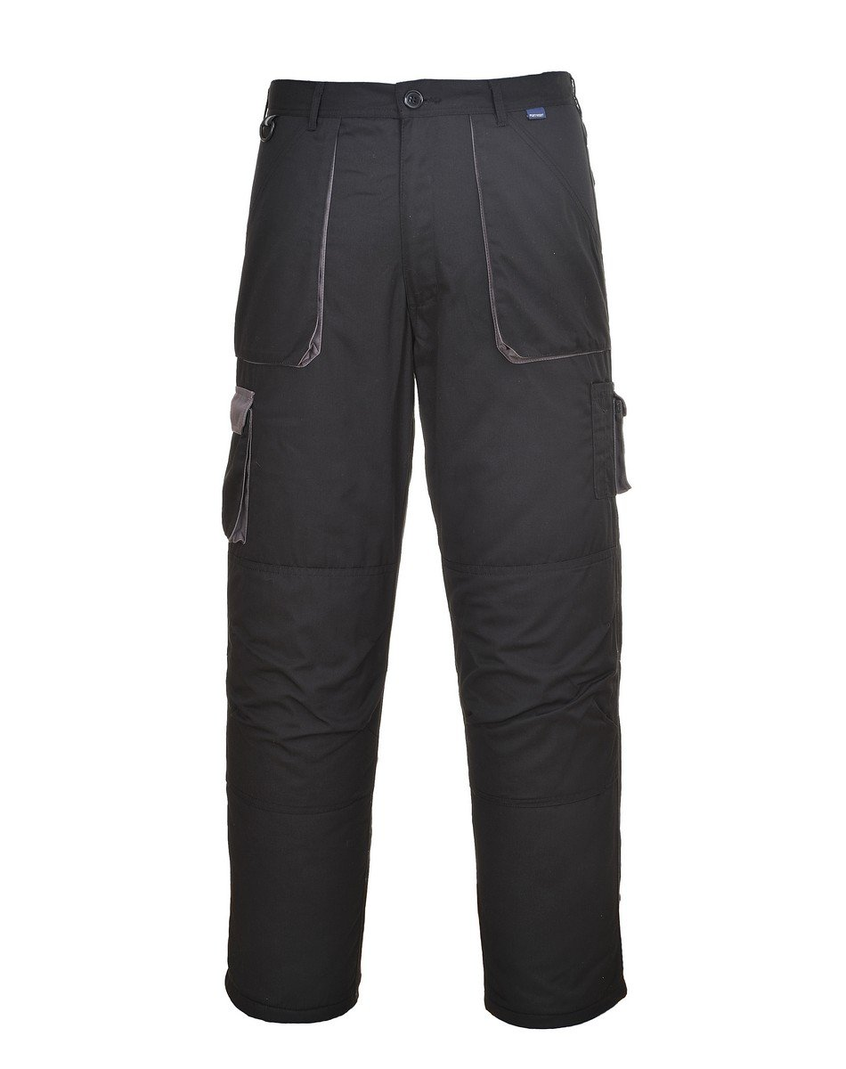 PPG Workwear Portwest Texo Contrast Trousers Lined TX16 Black Colour