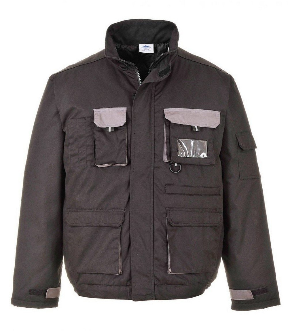 PPG Workwear Texo Contrast Jacket - Lined TX18 Black Colour