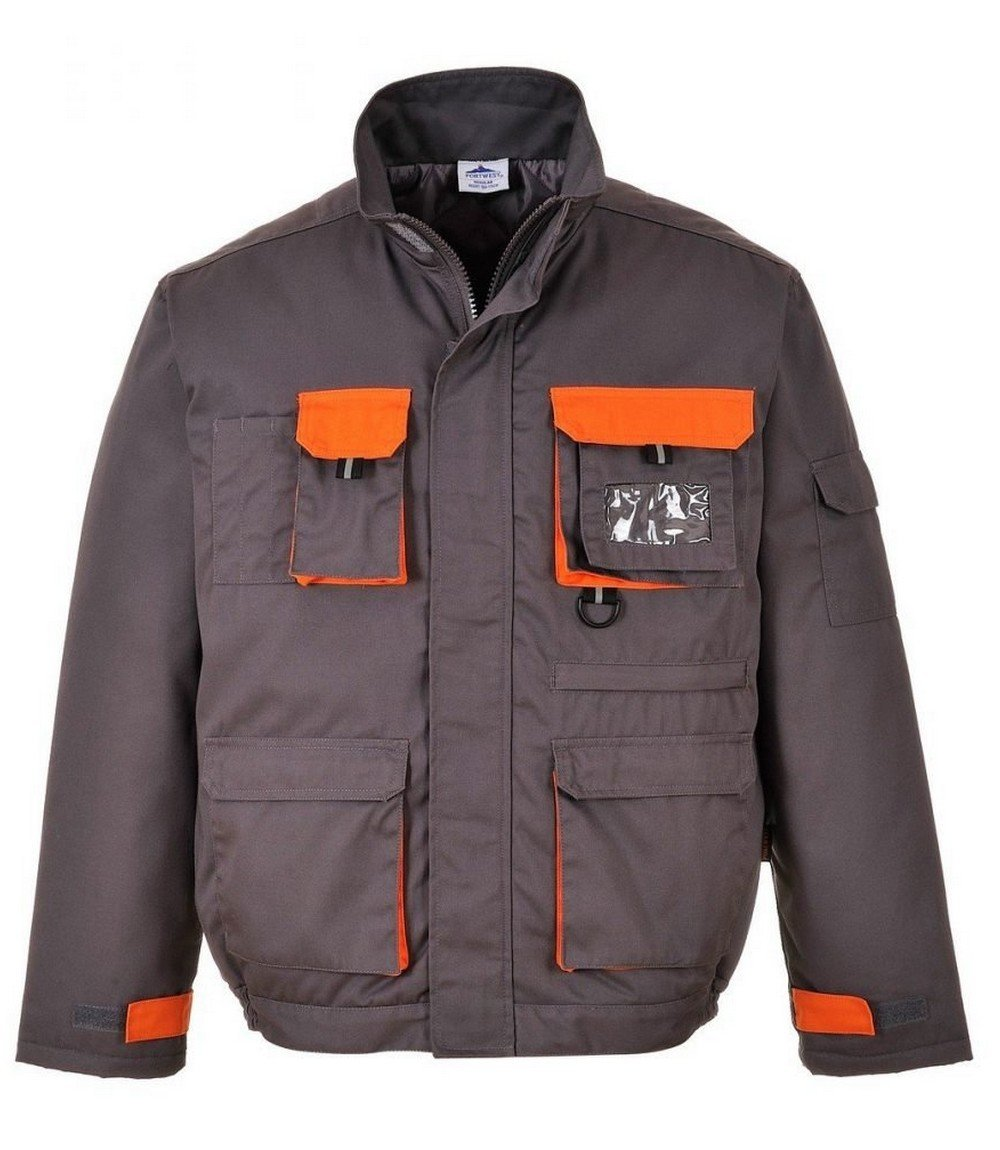 PPG Workwear Texo Contrast Jacket - Lined TX18 Grey Colour