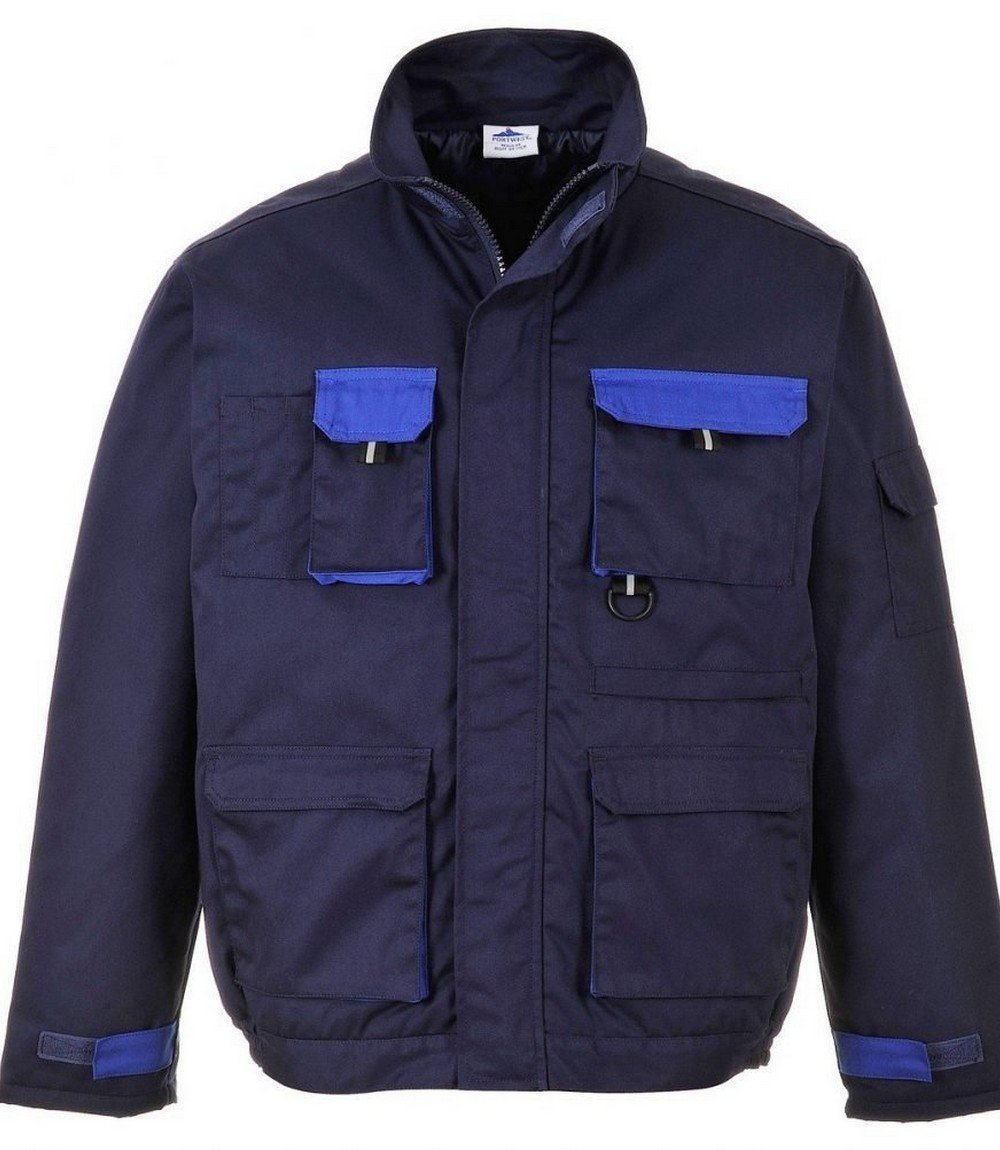 Texo Contrast Jacket - Lined TX18 Navy Blue Colour