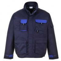 Portwest Texo Contrast Jacket - Lined TX18 Navy Blue Colour