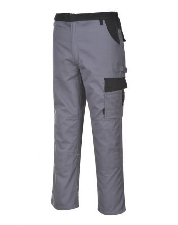 PPG Workwear Portwest Texo 300 Munich Trouser TX36 Grey Colour