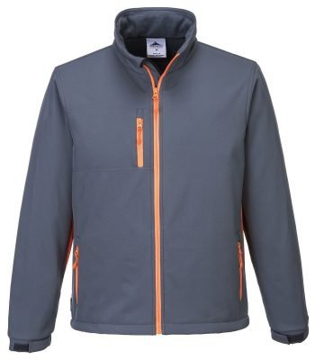 PPG Workwear Portwest Texo Softshell Jacket TX45 Grey Colour