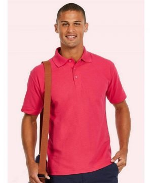 PPG Workwear Uneek Classic Polo Shirt UC101 Hot Pink Colour