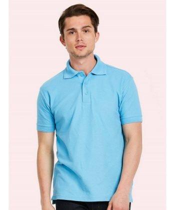 Uneek Premium Polo Shirt UC102 Sky Blue Colour