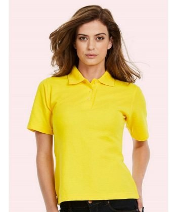 PPG Workwear Uneek Ladies Polo Shirt UC106 Yellow Colour