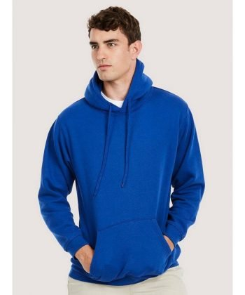PPG Workwear Uneek Premium Hooded Sweatshirt UC501 Royal Blue Colour