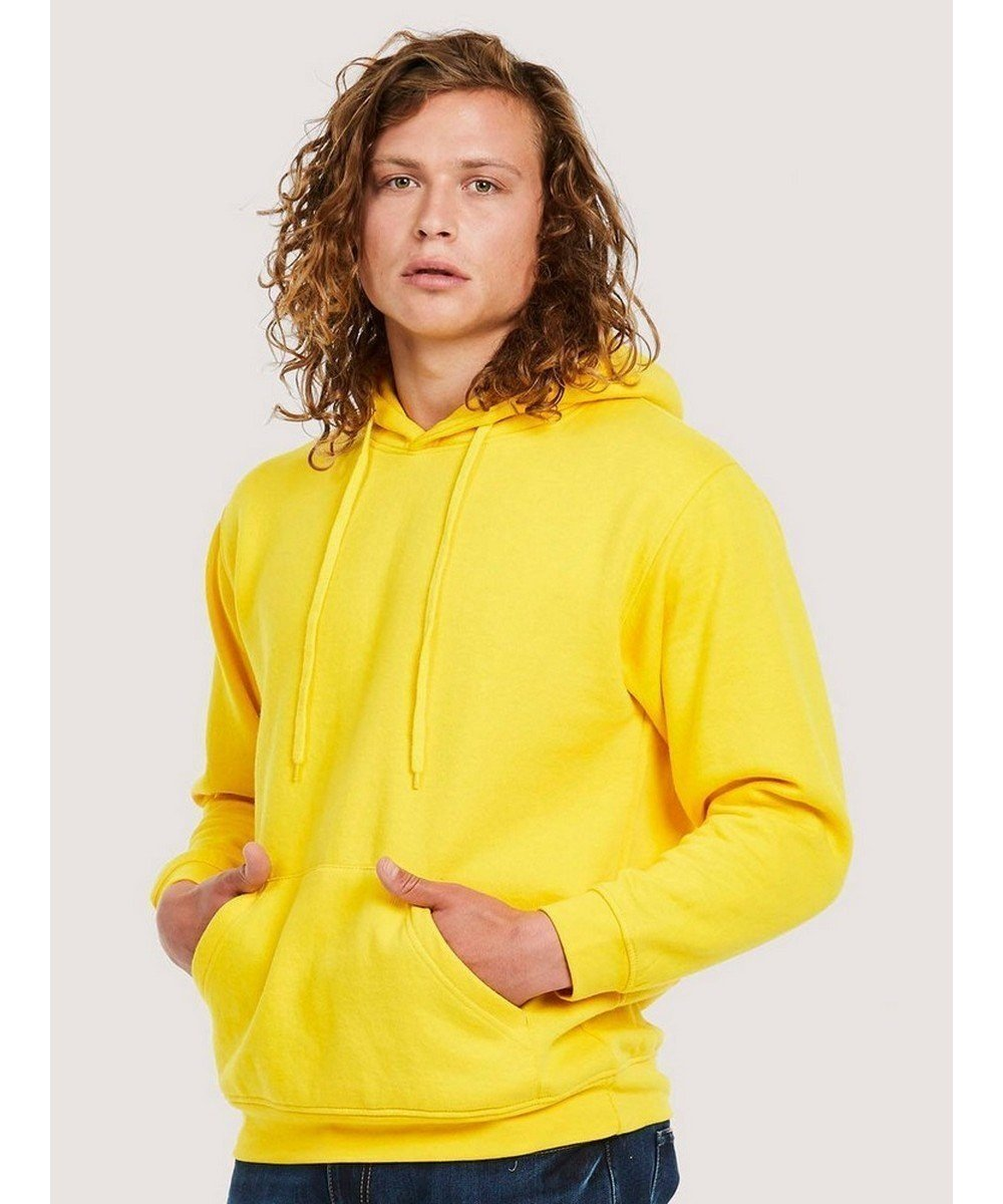 PPG Workwear Uneek Classic Hooded Sweatshirt UC502 Yellow Colour