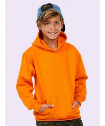 PPG Workwear Uneek Childrens Hooded Sweatshirt UC503 Orange Colour
