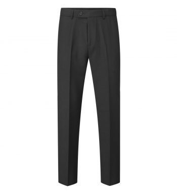 PPG Workwear Williams Mens Flat Front Trousers WMT6 Black Colour