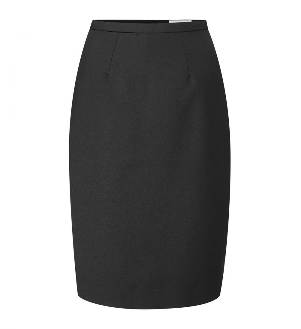 PPG Workwear Williams Womens Straight Skirt WSK1 Black Colour