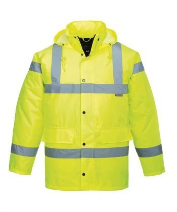 PPG Workwear Portwest Hi Vis Breathable Jacket S461 Yellow