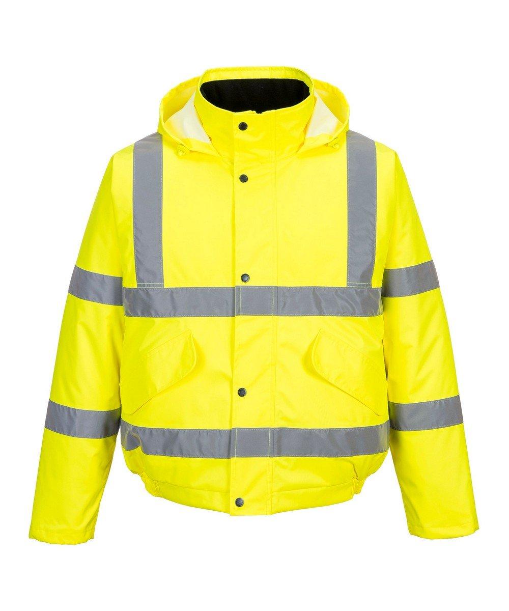 PPG Workwear Portwest Yellow Hi Vis Bomber Jacket S463