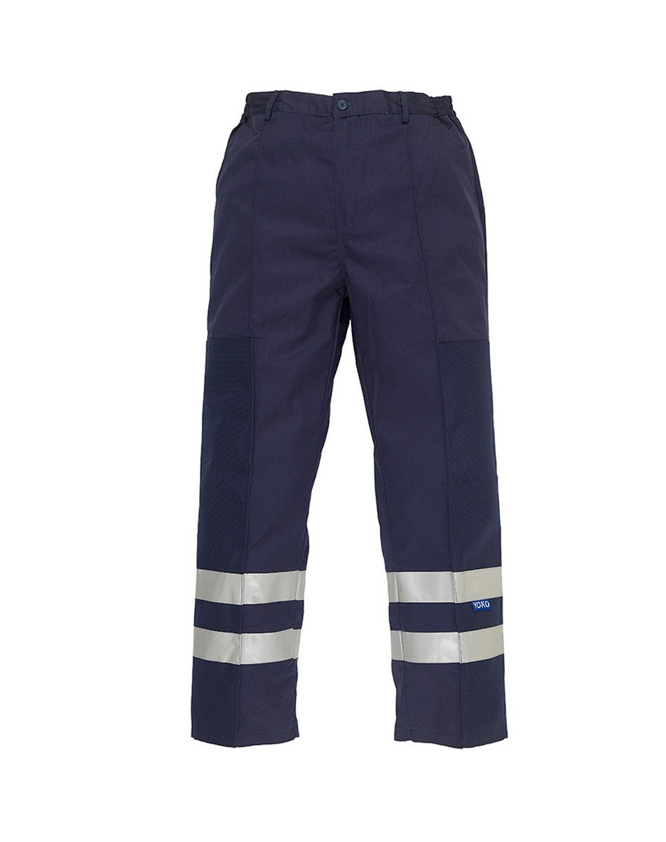 Yoko Reflective Ballistic Trousers BS015T Navy Blue Colour