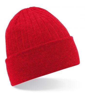 PPG Workwear Beechfield Thinsulate Beanie B447 Red Colour