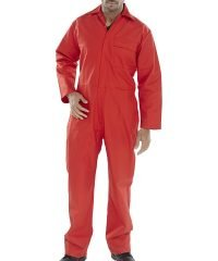 PPG Workwear Click Flame Retardant Coverall CFRBS Red Colour