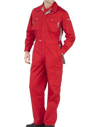 PPG Workwear Click Premium Boilersuit CPC Red Colour
