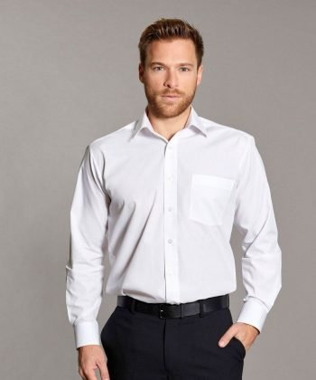 PPG Workwear Williams Classic Shirt White Colour Long Sleeve
