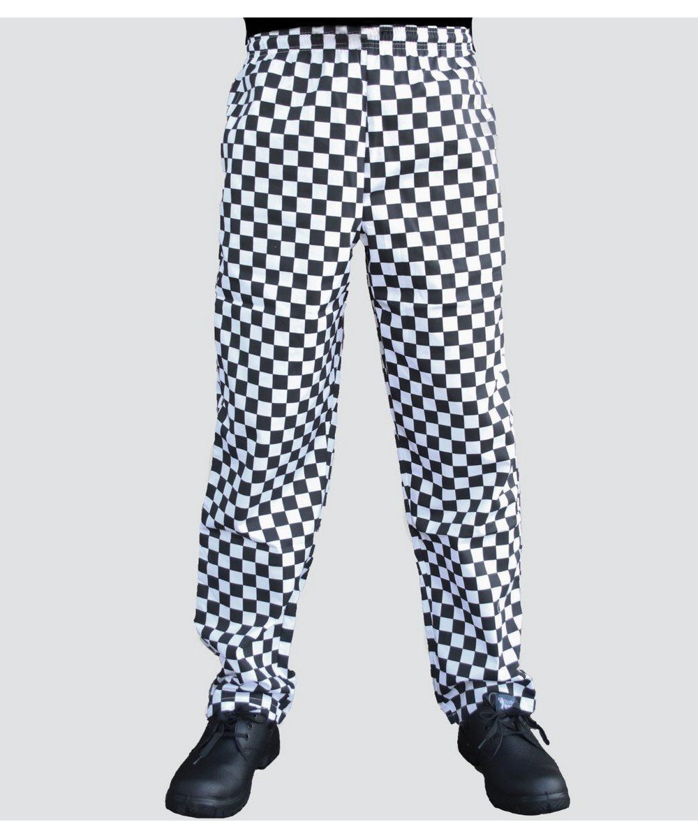 PPG Workwear Dennys Check Chefs Trousers DC28