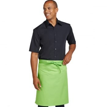 Dennys Multi Coloured Waist Apron DP100 Zest Green Colour