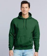 PPG Workwear Gildan DryBlend Adult Hooded Sweatshirt 12500 Forest Green Colour
