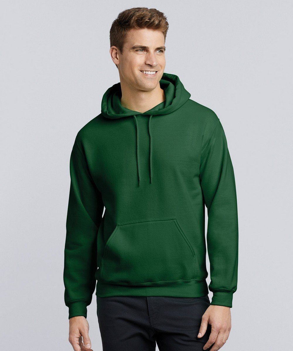 PPG Workwear Gildan Heavy Blend Adult Hooded Sweatshirt 18500 Forest Green Colour