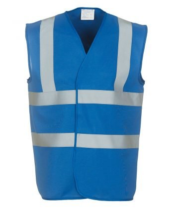 Yoko Hi Vis Vest HVW100 Royal Blue Colour