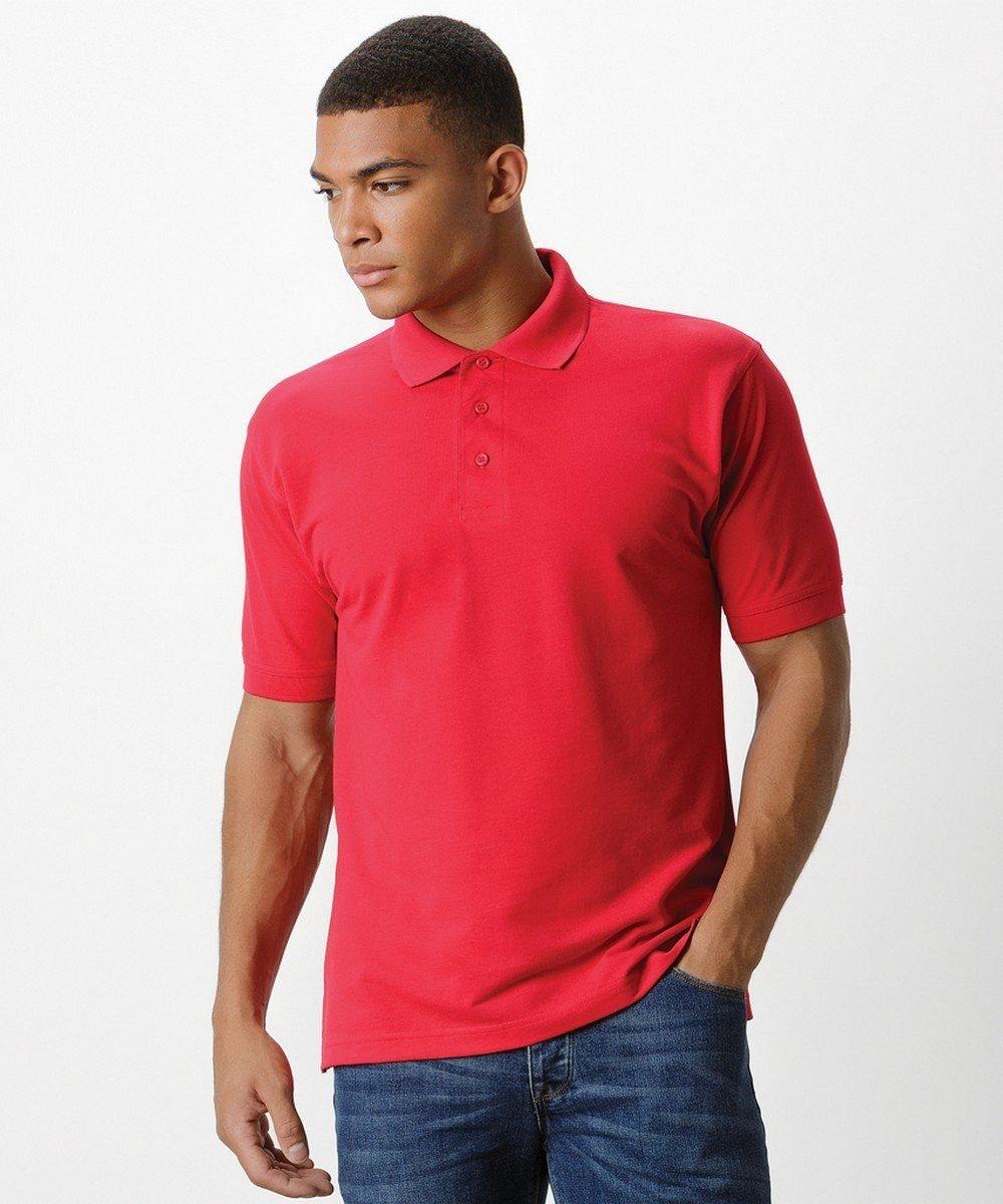 PPG Workwear Kustom Kit Klassic Polo Shirt KK403 Red Colour