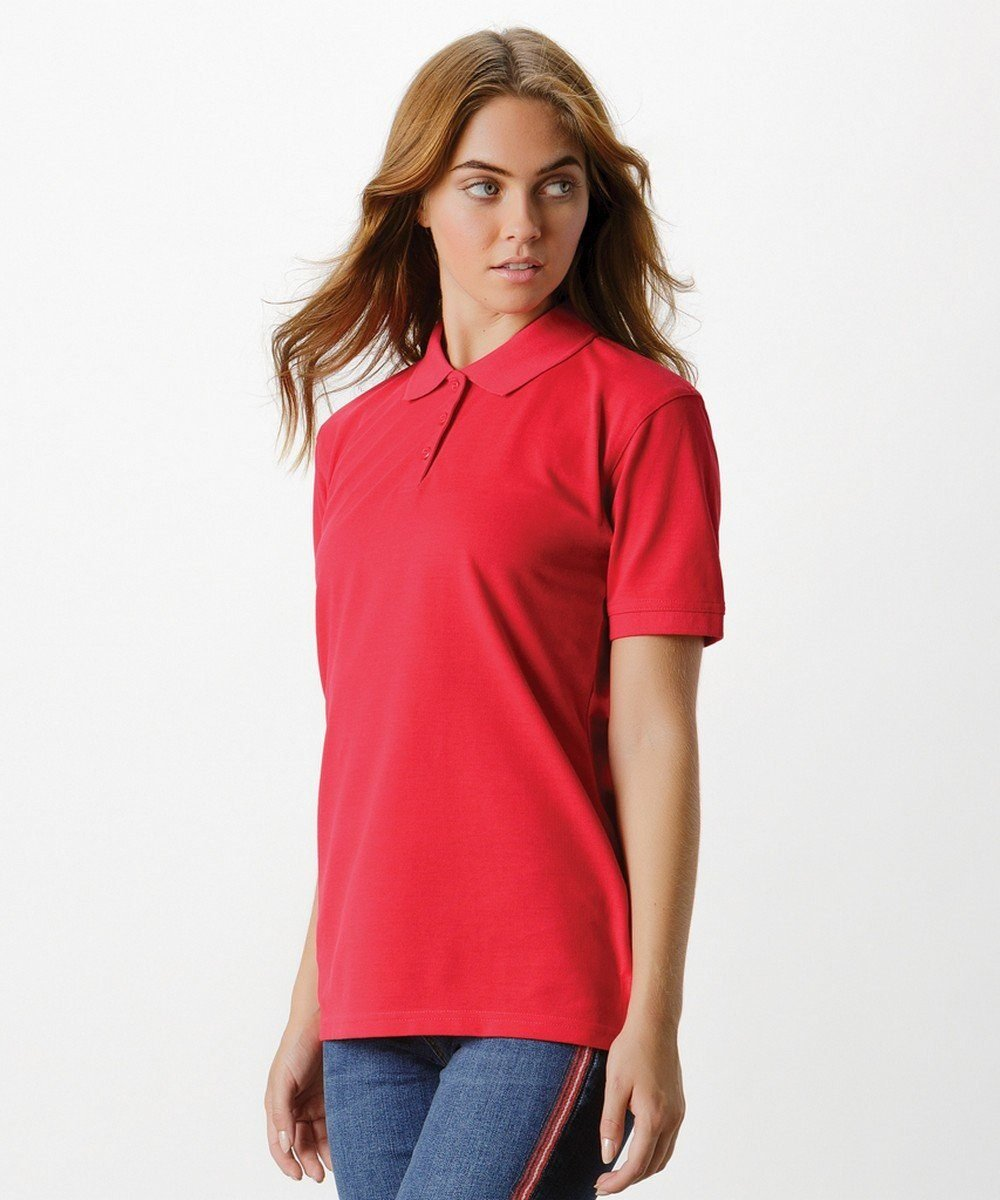 PPG Workwear Kustom Kit Klassic Ladies Polo Shirt KK703 Red Colour