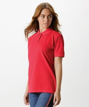 PPG Workwear Kustom Kit Klassic Ladies Polo Shirt KK703 Red Colour