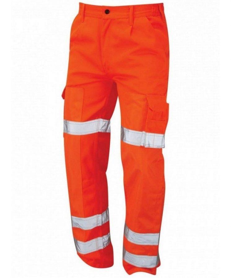 Orn Hi Vis Vulture Ballistic Trouser Orange Colour 6900