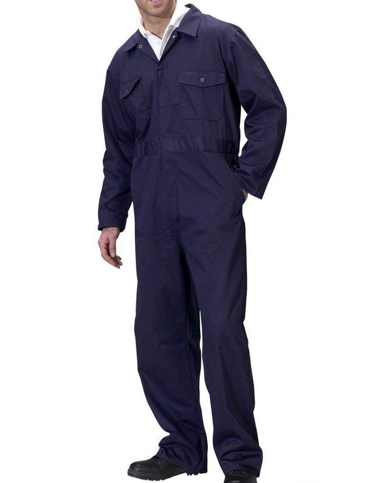 PPG Workwear Click Boilersuit PCBS Navy Blue Colour