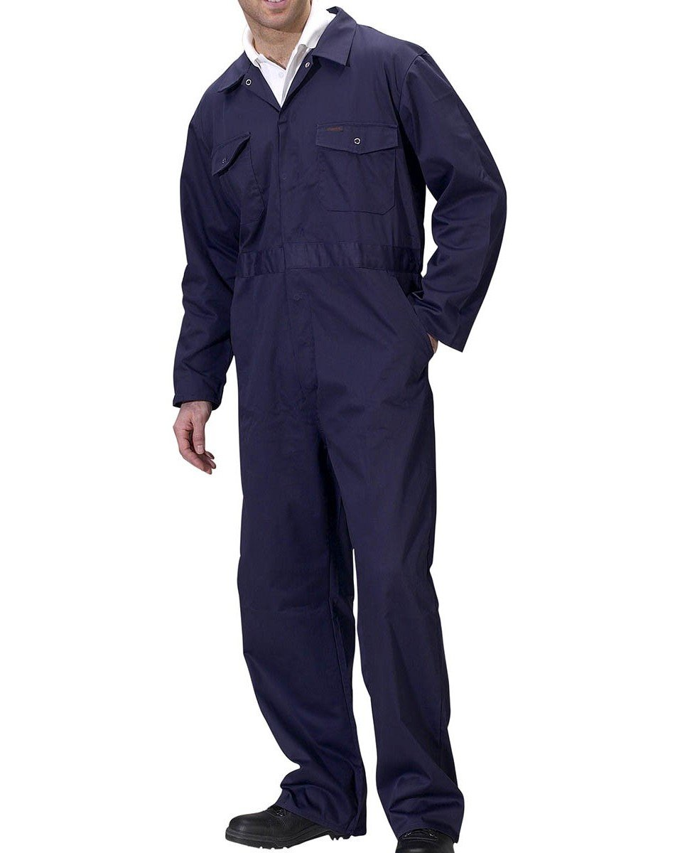 PPG Workwear Click Boilersuit PCBS Navy Blue Colour