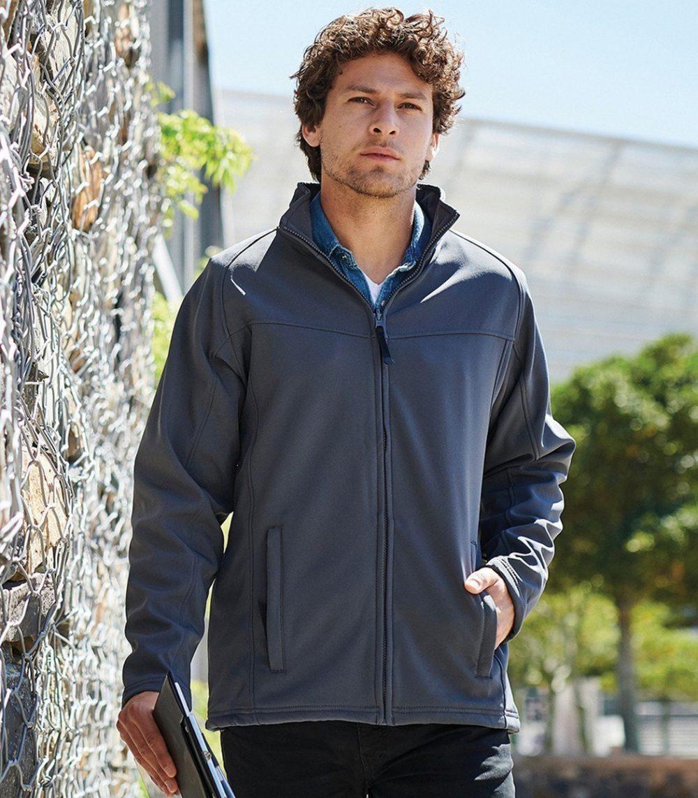 PPG Workwear Regatta Uproar Mens Softshell Jacket TRA642 Navy Blue Colour
