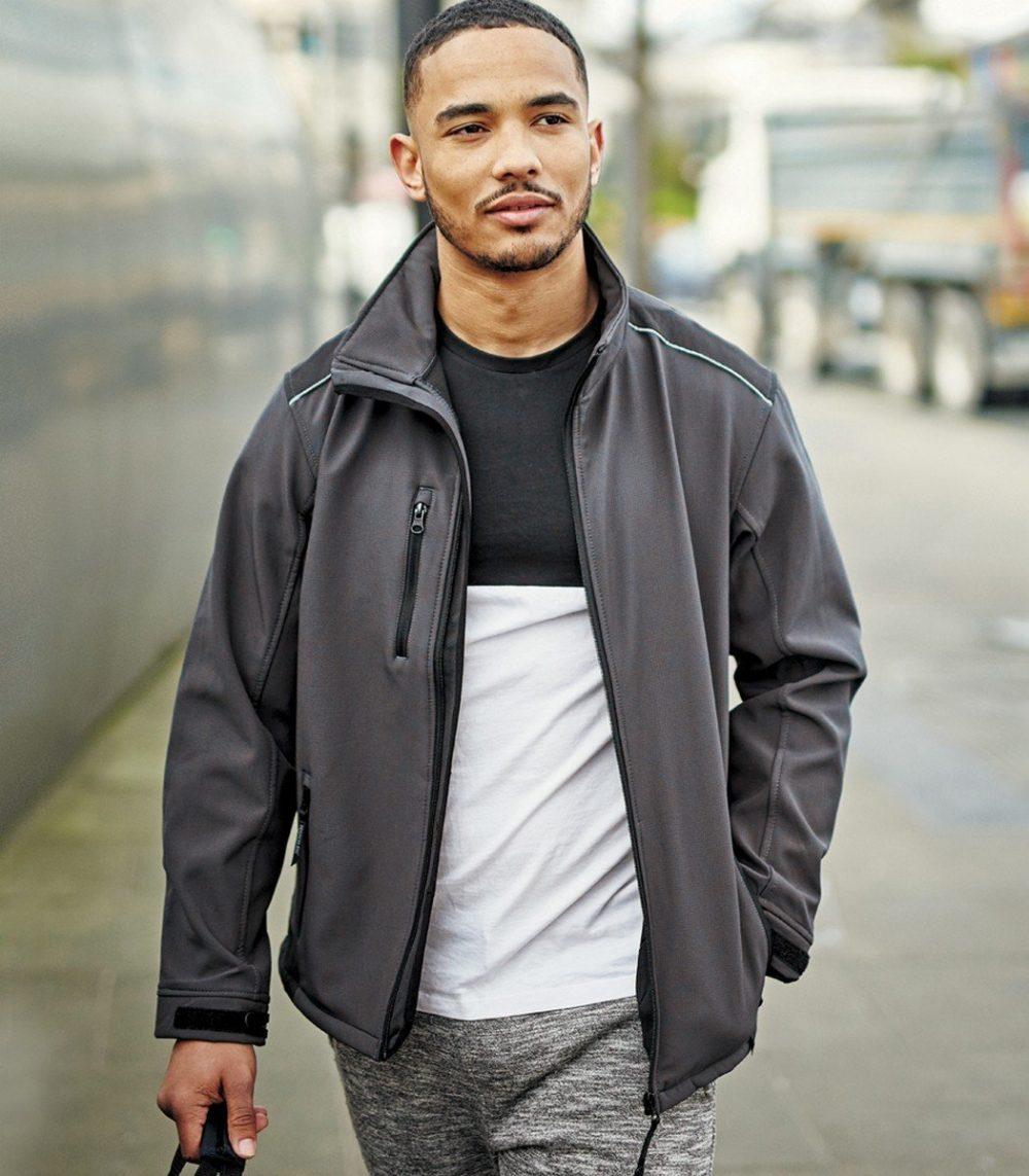 PPG Workwear Regatta Sandstom Workwear Softshell Jacket TRA651 Grey Colour