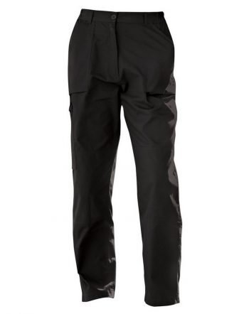 PPG Workwear Regatta Ladies Action Trouser TRJ334 Black Colour