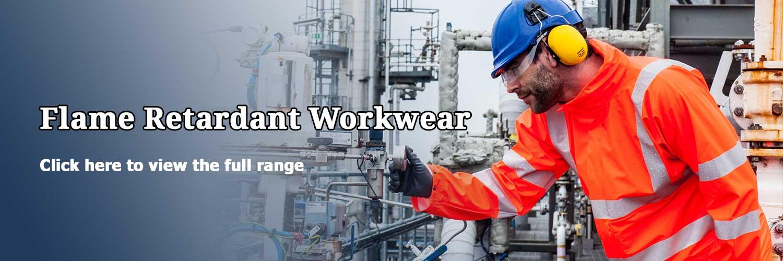 flame-retardant clothing