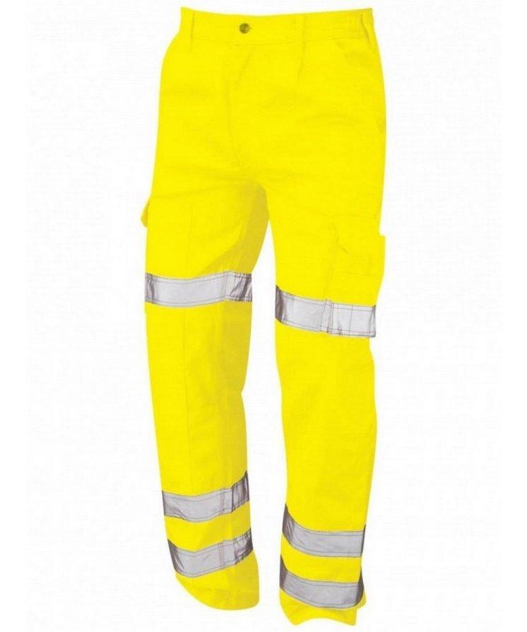 PPG Workwear Orn Hi Vis Vulture Ballistic Trouser Yellow Colour 6900