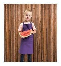 PPG Workwear Premier Childrens Bib Apron PR149 Purple Colour