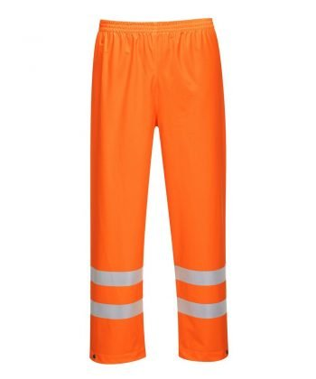 PPG Workwear Portwest Sealtex Ultra Hi Vis Waterproof Trousers Orange Colour S493