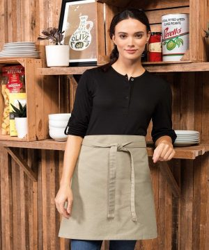 PPG Workwear Premier Calibre Waist Apron PR131 Khaki Colour
