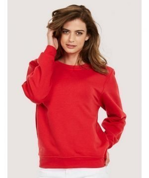 PPG Workwear Uneek Olympic Sweatshirt UC205 Red Colour