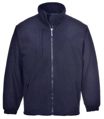 PPG Workwear Portwest BuildTex Laminated Fleece F330 Navy Blue Colour